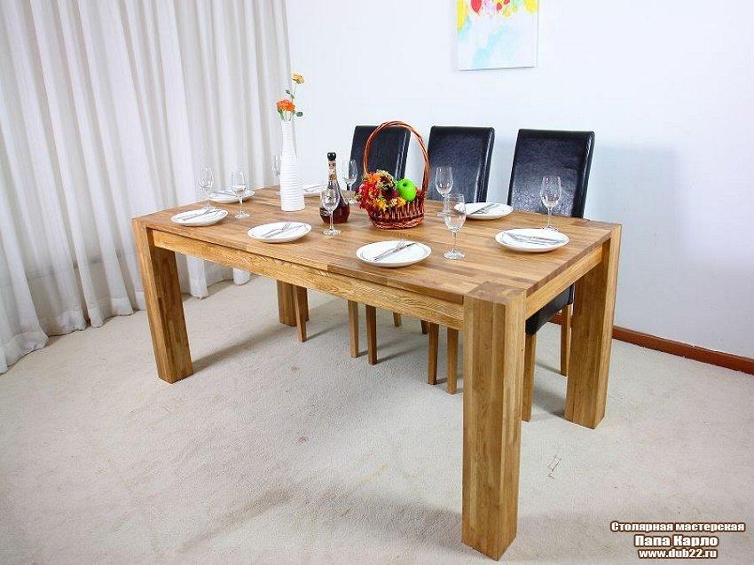 Стол на кухню из дерева