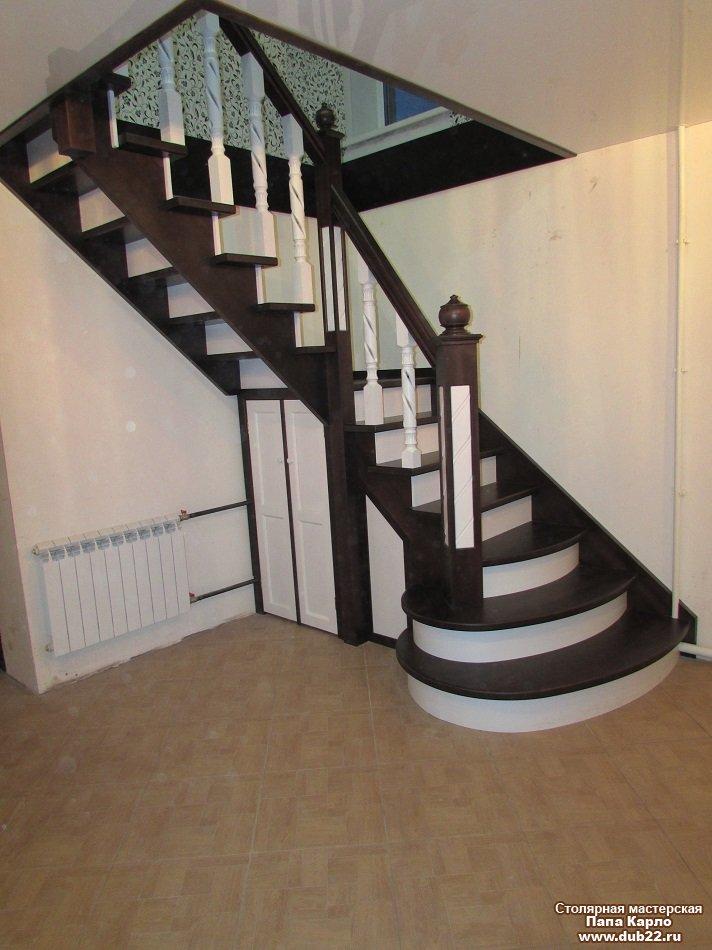 Деревянные лестницы на 2о ой этаж цены