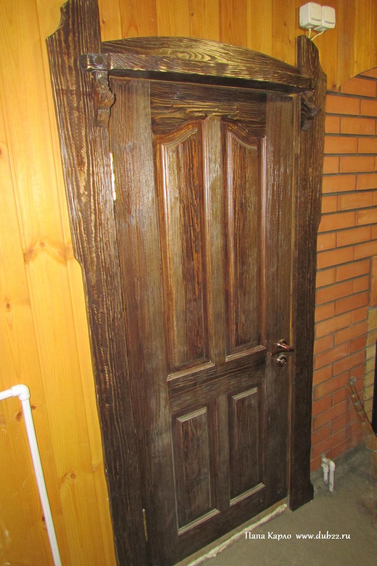 Двери из сосны под старину своими руками