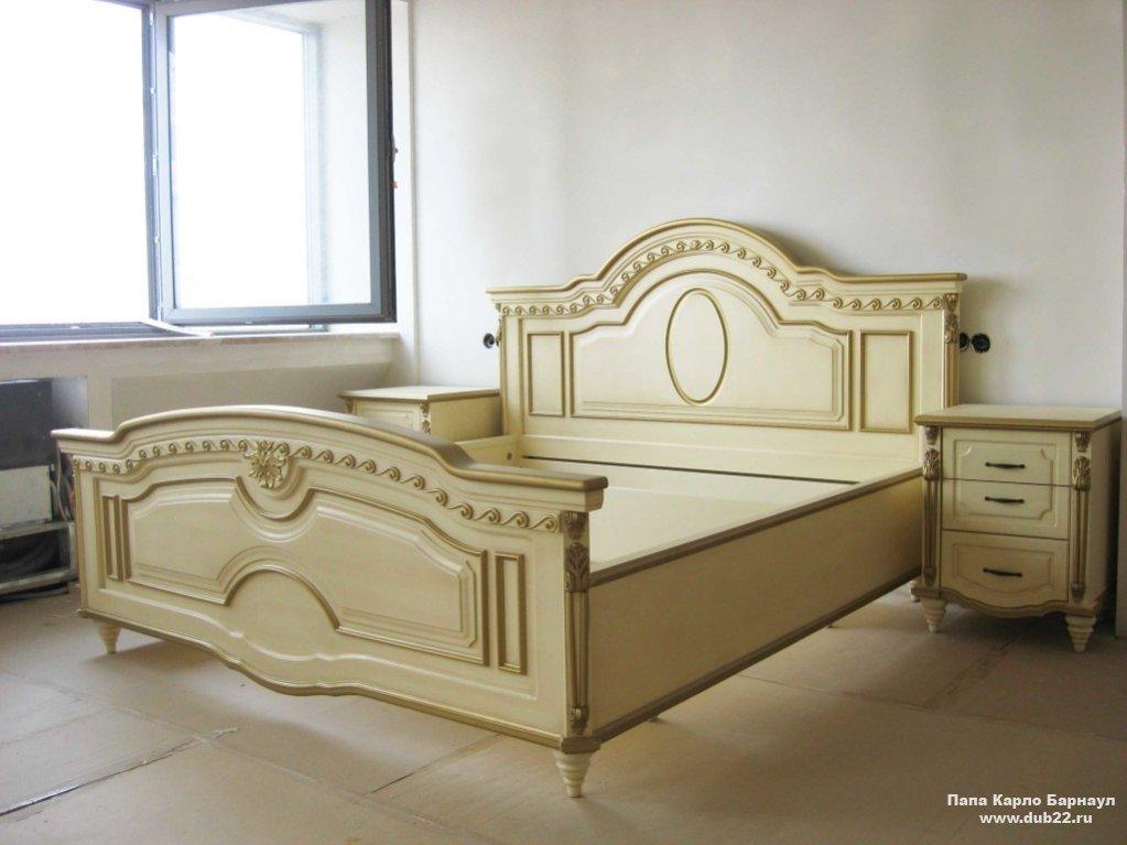 Кровати из натурального дерева наша мебель ru