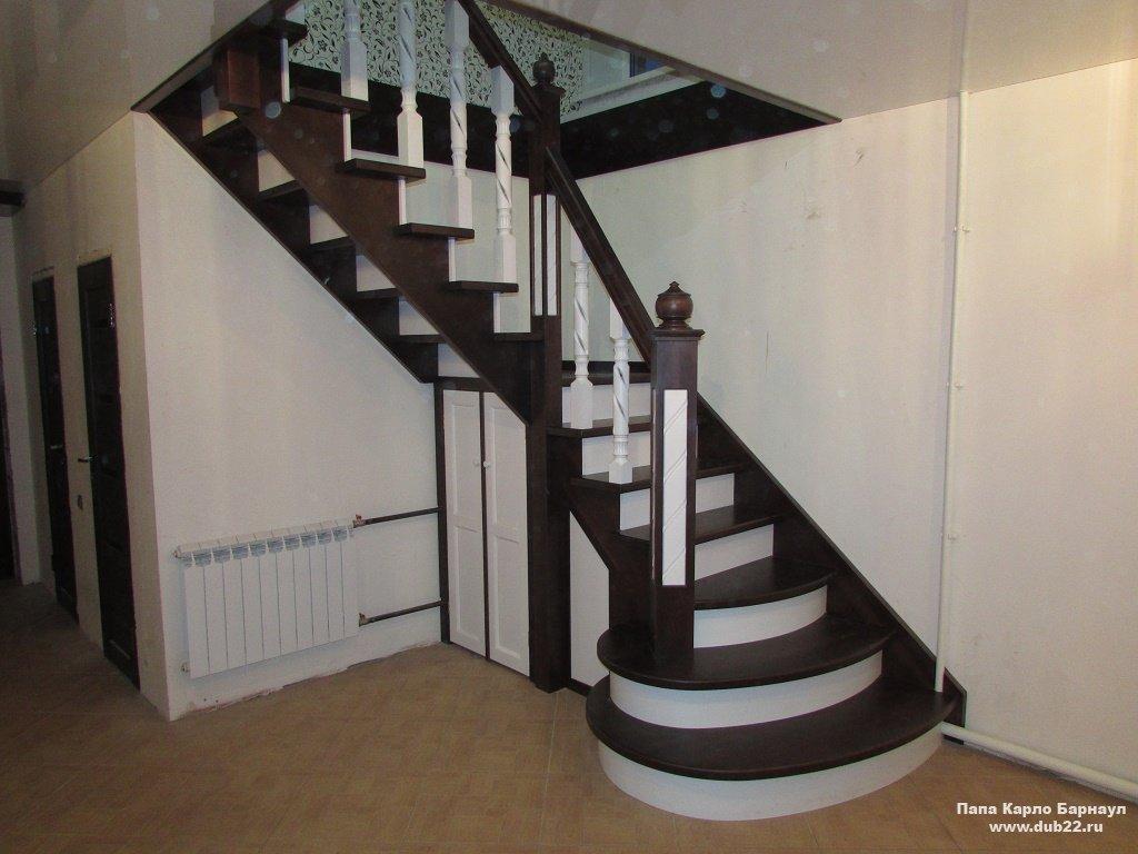 Лестницы из дерева в Челябинске Скидки! - Фабрика