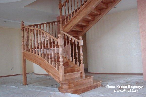 Деревянные лестницы Саранск - 100лестницрф