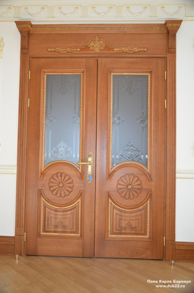 Двери из массива купить недорого от производителя