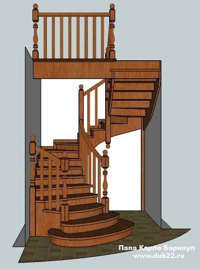 Продажа деревянных лестниц и их элементов