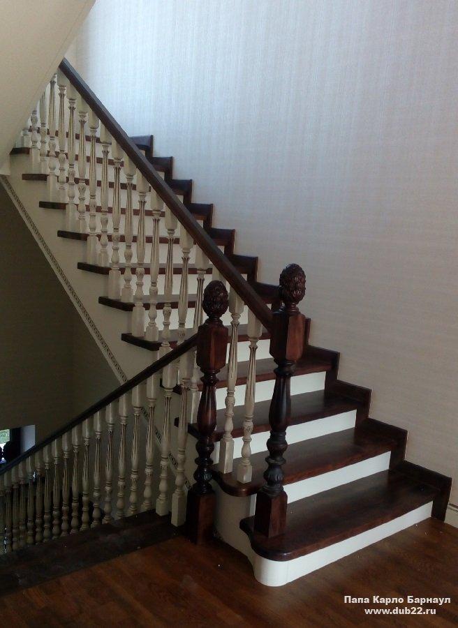 Перила для лестницы (57 фото): удобно, безопасно и