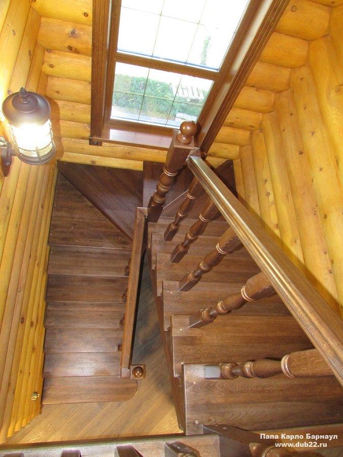 Поручни для лестниц изготовление из дерева на заказ в
